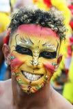 Fiesta in Cartagena, Kolumbien lizenzfreie stockfotografie