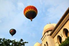 Fiesta chaude de ballon à air Image libre de droits