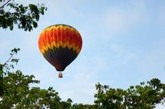 Fiesta chaude de ballon à air images libres de droits