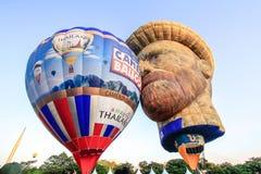 Fiesta chaude de ballon à air de Putrajaya Image stock