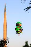 Fiesta chaude de ballons à air de Putrajaya Images stock