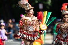 The Fiesta DC Parade stock image