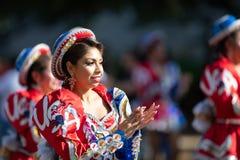The Fiesta DC Parade stock photography