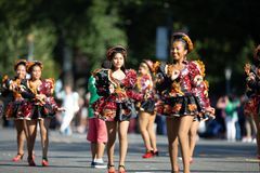 The Fiesta DC Parade stock photos