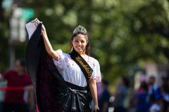 The Fiesta DC Parade royalty free stock image