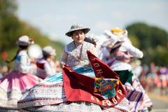 The Fiesta DC Parade royalty free stock photos