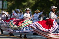 The Fiesta DC Parade stock images