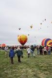 Fiesta de ballon Photos libres de droits