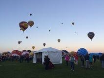 Fiesta de ballon Image stock