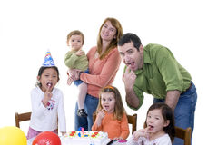 Fiesta de cumpleaños Imagen de archivo libre de regalías
