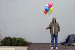 Fiesta de cumpleaños apocalíptica Imágenes de archivo libres de regalías