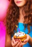Fiesta de cumpleaños colorida Imágenes de archivo libres de regalías