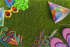 Fiesta de cumpleaños del verano Imagen de archivo