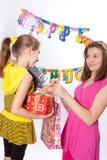 Fiesta de cumpleaños divertida Fotografía de archivo