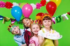 Fiesta de cumpleaños Foto de archivo