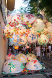 Fiesta de Gracia Royalty Free Stock Photography