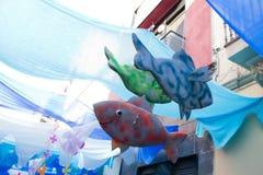 Fiesta de Gracia Stock Photos