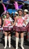 Fiesta de Gran Poder,玻利维亚, 2014年 图库摄影