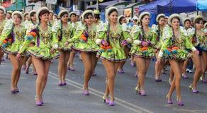 Fiesta DE Gran Poder, Bolivië, 2014 royalty-vrije stock foto