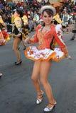 Fiesta DE Gran Poder, Bolivië, 2014 stock foto's