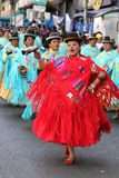 Fiesta de Gran Poder, Bolivia, 2014 Fotografia Stock Libera da Diritti