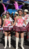 Fiesta de Gran Poder, Bolivia, 2014 Arkivbild