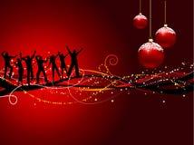 Fiesta de Navidad stock de ilustración