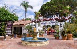 Fiesta de Reyes à la vieille ville San Diego State Historic Park Images libres de droits
