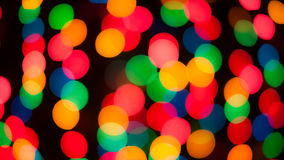 Fiesta. Defocused party lights form a colorful background stock images