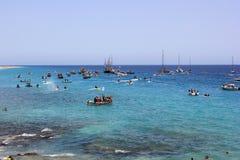 fiesta del Carmen in Fuerteventura Royalty-vrije Stock Afbeeldingen