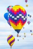 Fiesta del globo de Albuquerque Imagenes de archivo