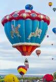 Fiesta del globo de Albuquerque Fotografía de archivo