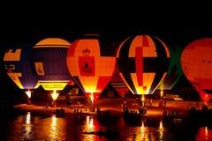 Fiesta del globo del aire caliente Fotografía de archivo