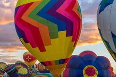 Fiesta 2016 del globo del aire caliente de Albuquerque Fotos de archivo libres de regalías
