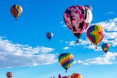 Fiesta 2016 del globo del aire caliente de Albuquerque Imagen de archivo