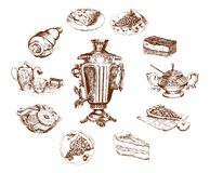 Fiesta del té Foto de archivo libre de regalías