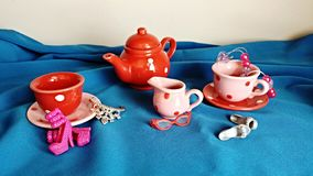 Fiesta del té de la princesa Foto de archivo