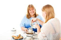 Fiesta del té del día de madres Imagenes de archivo