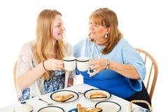 Fiesta del té para el día de madres Foto de archivo libre de regalías