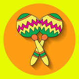 Fiesta elements Royalty Free Stock Photo