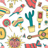 Fiesta elements Royalty Free Stock Photos