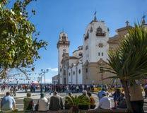 Fiesta en Candelaria Foto de archivo libre de regalías