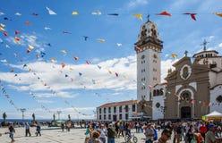 Fiesta en Candelaria Fotografía de archivo libre de regalías