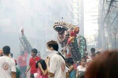 Fiesta en la calle Foto de archivo libre de regalías