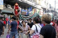 Fiesta en la calle Fotografía de archivo libre de regalías