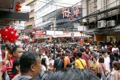 Fiesta en la calle Foto de archivo