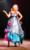 Fiesta Expo 2011 - showcases of extravagant brides Royalty Free Stock Photos