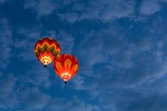 Fiesta 2016 för ballong Albuquerque för varm luft Arkivbilder
