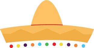 Fiesta Hat Royalty Free Stock Image