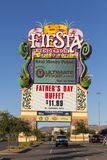 Fiesta Henderson Sign en Las Vegas, nanovoltio el 14 de junio de 2013 Imágenes de archivo libres de regalías